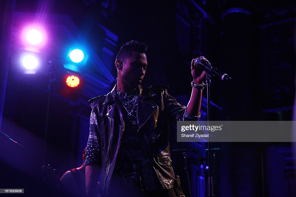 Miguel attends the Gig-It Launch Party at Capitale Bowery on April 30, 2013 in New York City.