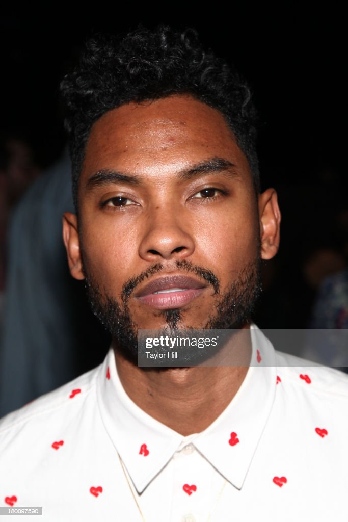Miguel attends the Opening Ceremony Spring 2014 fashion show at on September 8, 2013 in New York City.