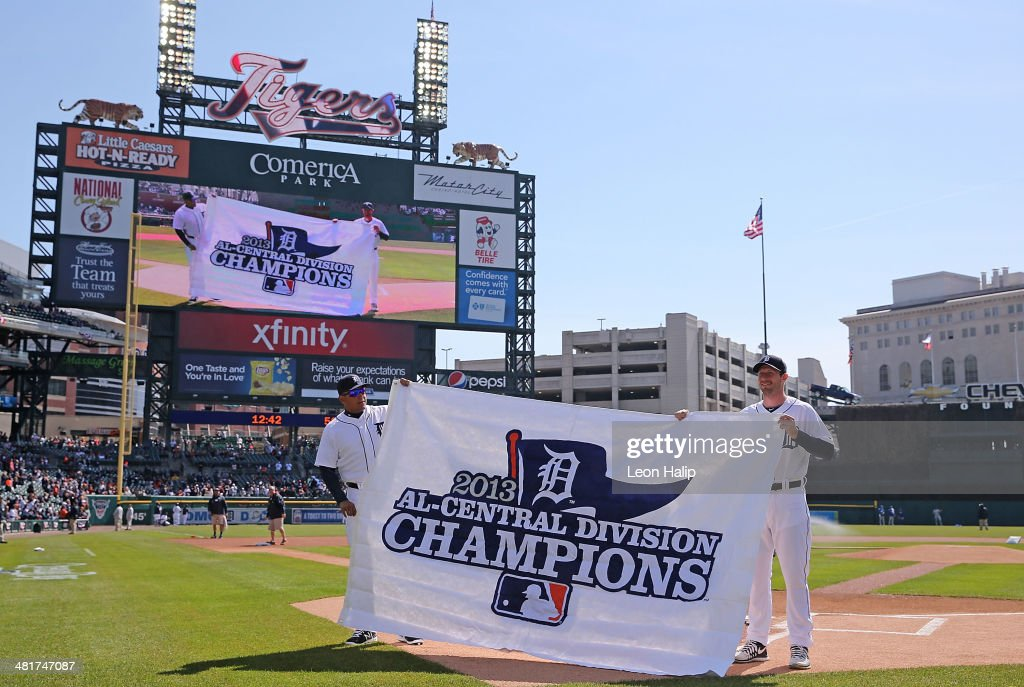 jersey 20.50 miguel cabrera 24 and max scherzer 37 of the detroit tigers hold up the