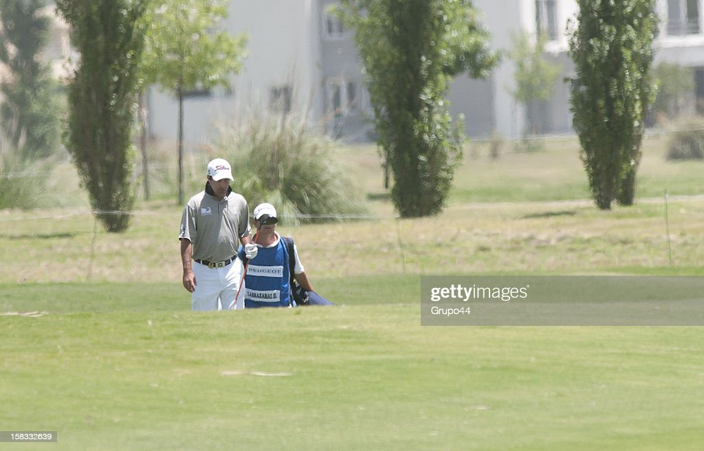 Miguel Carballo of Argentina walks during the opening day of the 107 Visa Golf Open presented by Peugeot as part of the PGA Latin America at Nordelta Golf Club on December 13, 2012 in Buenos Aires, Argentina.