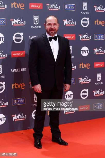 Miguel Ferrari attends Platino Awards 2017 at La Caja Magica on July 22 2017 in Madrid Spain