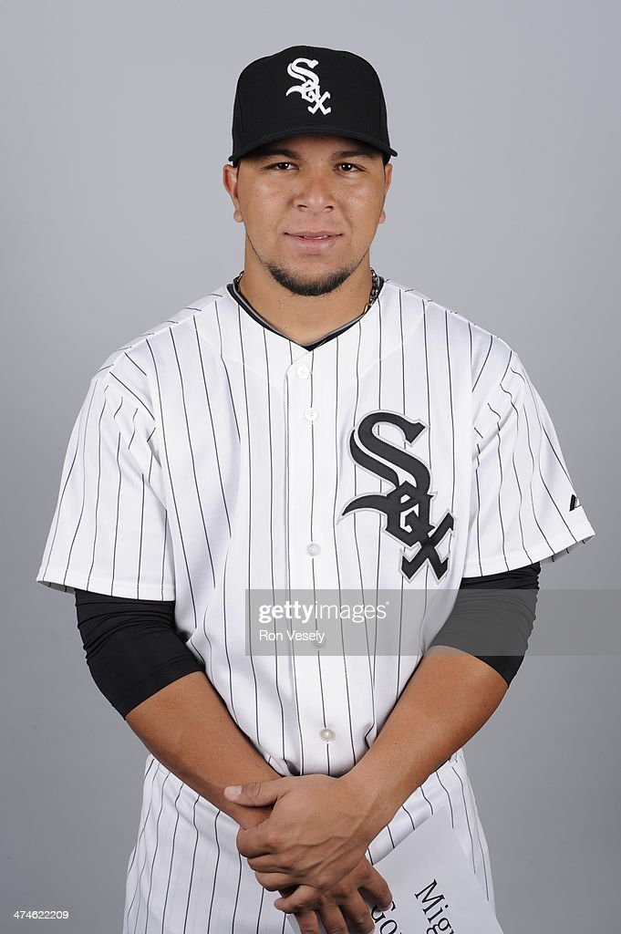 Miguel Gonzalez #73 of the Chicago White Sox poses during Photo Day on Saturday, February 22, 2014 at Camelback Ranch in Glendale, Arizona.
