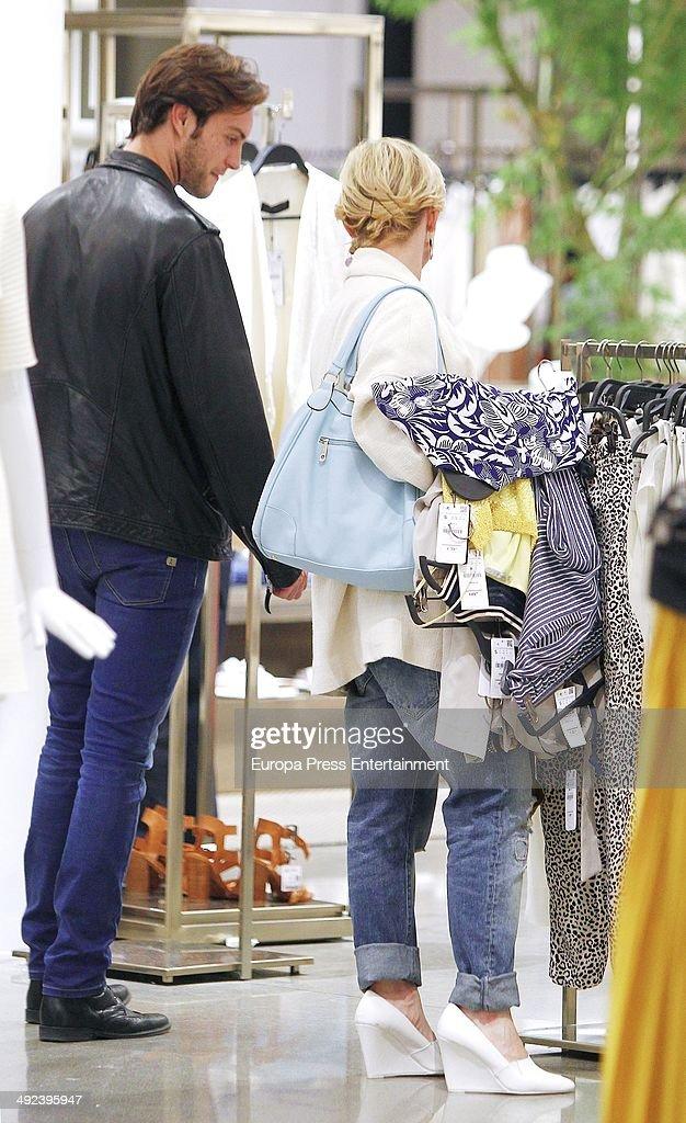 Miguel Herrera and Soraya Arnelas is seen on April 25 2014 in Madrid Spain