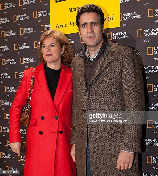 Miguel Indurain attends the 'Flagship Store National Geographic' opening on November 30 2010 in Madrid Spain