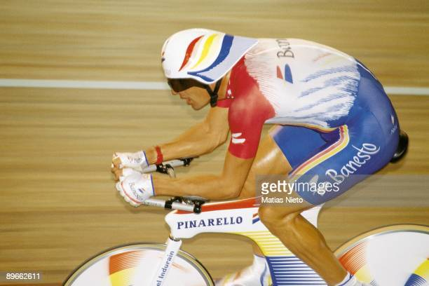 Miguel Indurain breaks the record of the hour in Bordeaux
