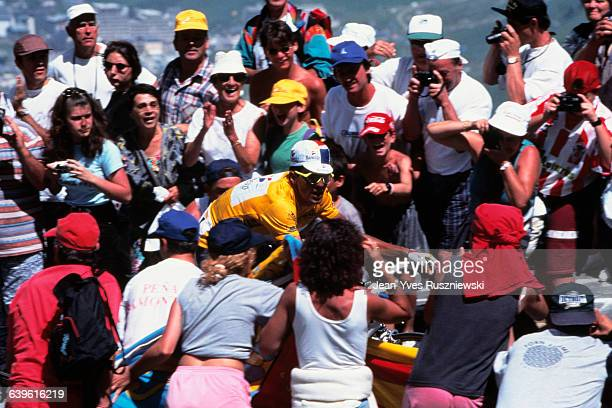 Miguel Indurain from Spain during stage 15 of the 1995 Tour de France