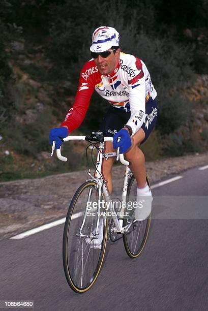 Miguel Indurain in Palma Spain in February 1996