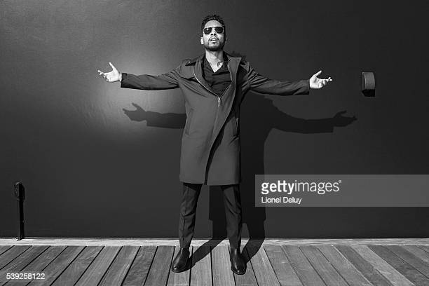 Miguel is photographed for Fault Magazine on February 4 2016 in Los Angeles California