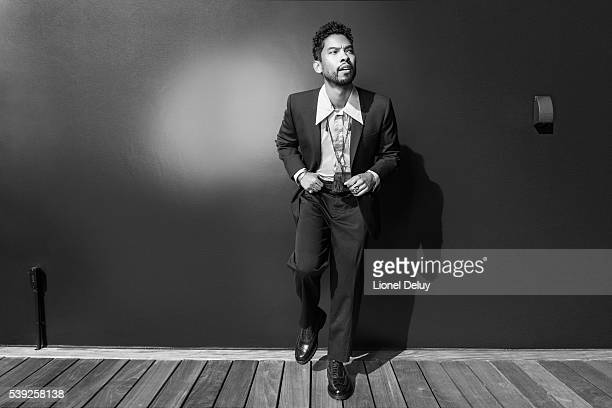 Miguel is photographed for Fault Magazine on February 4 2016 in Los Angeles California PUBLISHED IMAGE