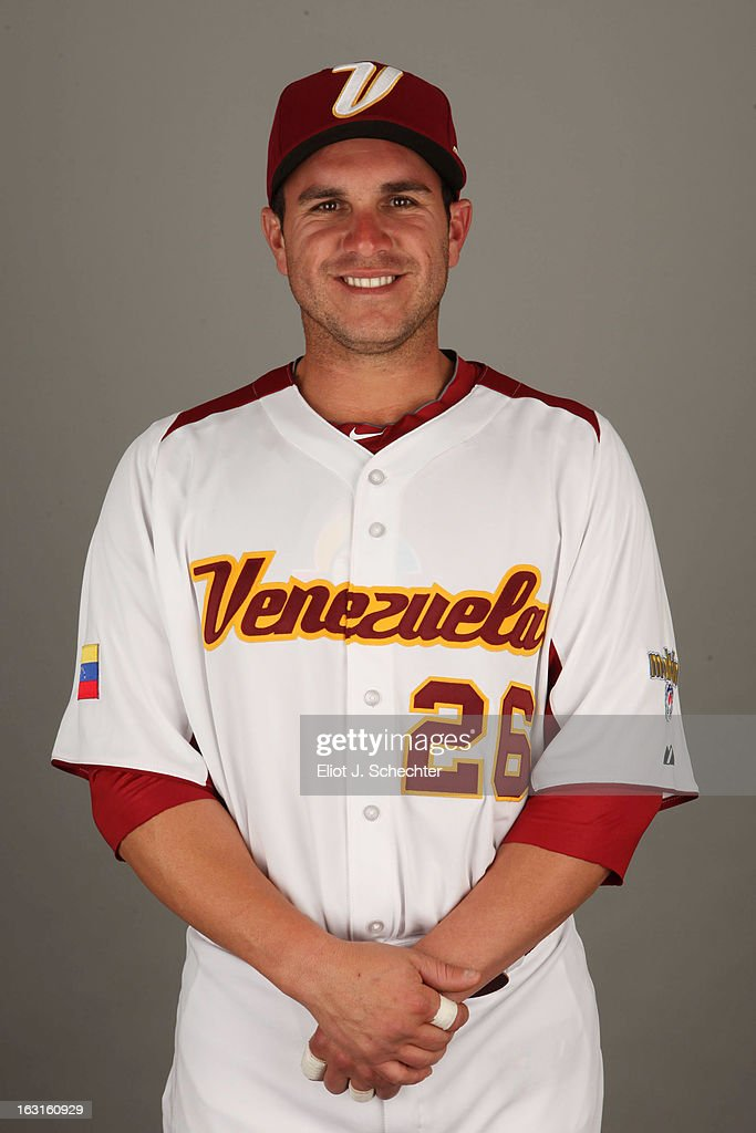 Miguel Montero #26 of Team Venezuela poses for a headshot for the 2013 World Baseball Classic at Roger Dean Stadium on Monday, March 4, 2013 in Jupiter, Florida.