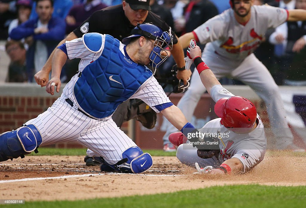 Division Series - St Louis Cardinals v Chicago Cubs - Game Four