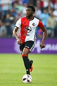 Miguel Nelom of Feyenoord during the preseason friendly match between Feyenoord and Valencia on July 23 2016 at the Kuip in Rotterdam The Netherlands