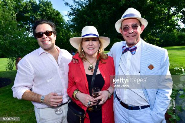 Miguel Oliveira Deborah Buck and Gerard Widdershoven attend Maison Gerard Presents Marino di Teana A Lifetime of Passion and Expression at Michael...