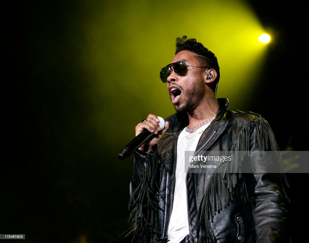 <a gi-track='captionPersonalityLinkClicked' href=/galleries/search?phrase=Miguel+-+Chanteur&family=editorial&specificpeople=8842866 ng-click='$event.stopPropagation()'>Miguel</a> performs at day 3 of the North Sea Jazz Festival at Ahoy on July 14, 2013 in Rotterdam, Netherlands.