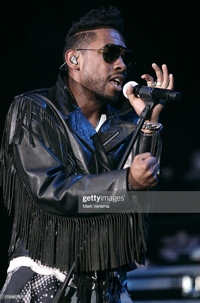 Miguel performs at Day 3 of the North Sea Jazz Festival at Ahoy on July 14, 2013 in Rotterdam, Netherlands.