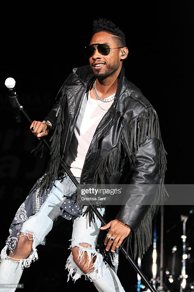 Miguel performs at day three of the North Sea Jazz Festival at Ahoy on July 14, 2013 in Rotterdam, Netherlands.