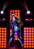 Miguel performs in concert at The Palace of Auburn Hills on December 16 2013 in Auburn Hills Michigan
