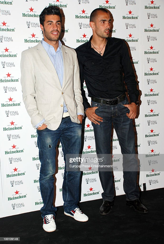 Miguel Torres (L) attends the Heineken Private Party on May 20, 2010 in Madrid, Spain.