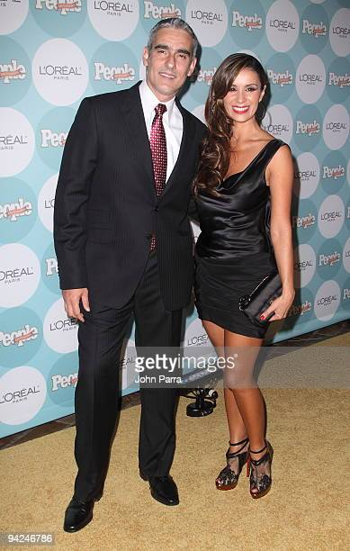 Miguel Varoni and Catherine Siachoque arrives at 2009 Premios People En Espanol at Club 50 at Viceroy Miami on December 9 2009 in Miami Florida