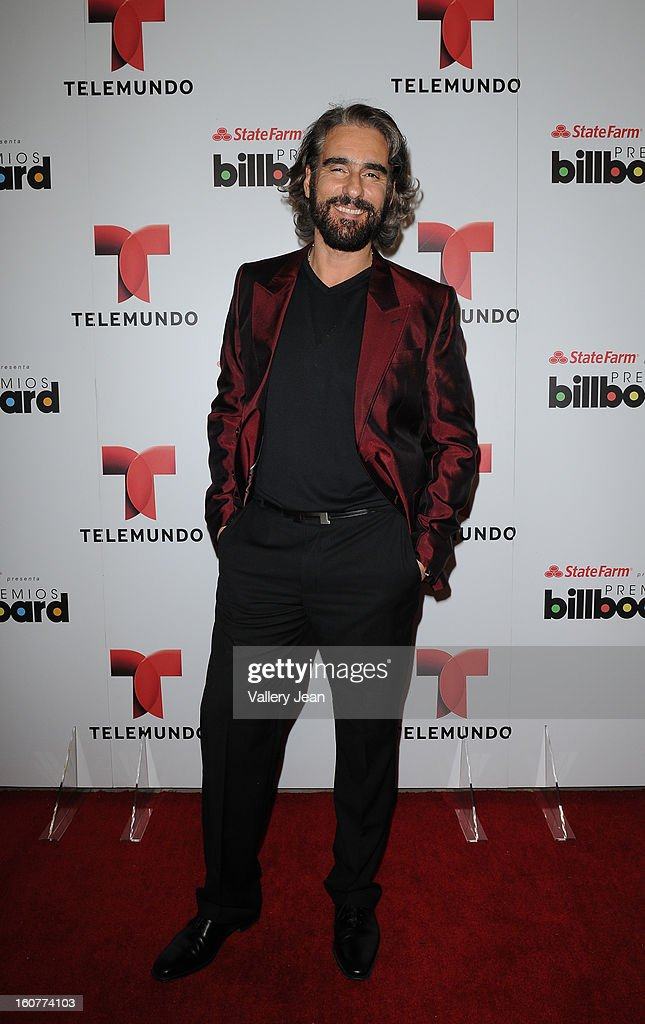 Miguel Varoni attends Telemundo and Premios Billboard 2013 Press Conference at Gibson Miami Showroom on February 5, 2013 in Miami, Florida.