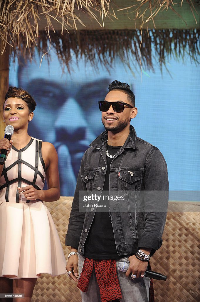 <a gi-track='captionPersonalityLinkClicked' href=/galleries/search?phrase=Miguel+-+Singer&family=editorial&specificpeople=8842866 ng-click='$event.stopPropagation()'>Miguel</a> visits BET's 106 & Park at BET Studios on April 15, 2013 in New York City.