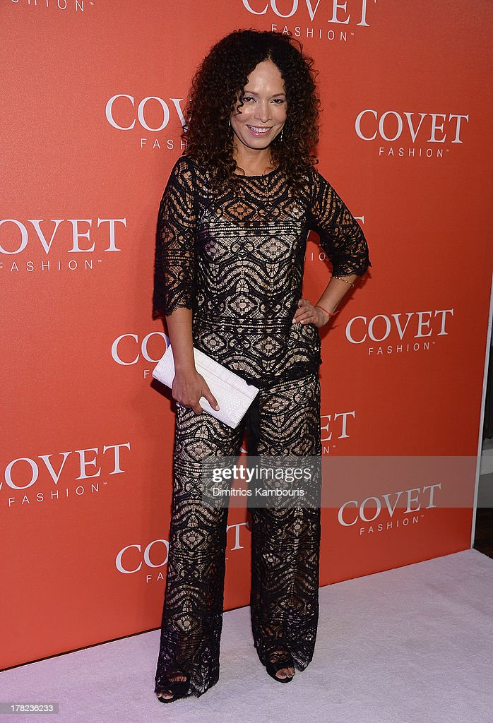 Miguelina Gambaccini attends the COVET Fashion Launch Event at 82 Mercer on August 27, 2013 in New York City.