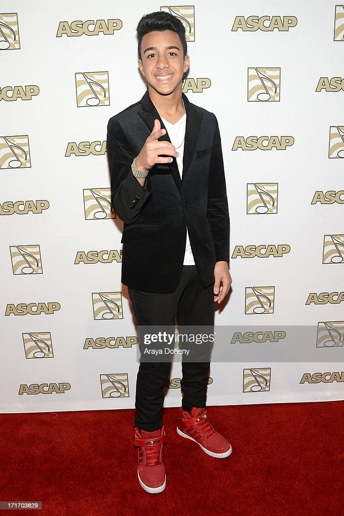 Miguelito attends The American Society of Composers, Authors and Publishers (ASCAP) 26th Annual Rhythm & Soul Music Awards at The Beverly Hilton Hotel on June 27, 2013 in Beverly Hills, California.