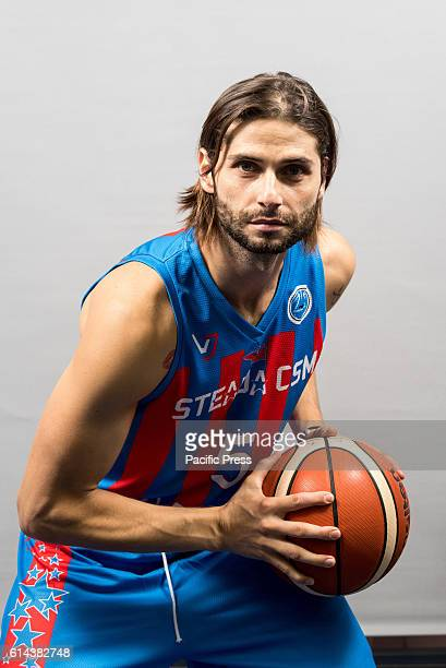 GARDA 'MIHAI VITEAZUL' BUCHAREST ROMANIA Mihai Paul of Steaua CSM EximBank Bucharest during the official photo session of Steaua CSM EximBank...