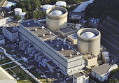 Mihama Japan File photo from November 2011 shows the No 2 reactor and No 1 reactor of the Mihama nuclear power plant in Fukui Prefecture Japan's...