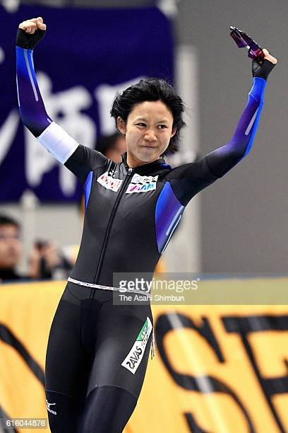 Miho Takagi xxx in the Women's 1500m during the 23rd All Japan Speed Skating Single Distance Championships at M Wwave on October 21 2016 in Nagano...