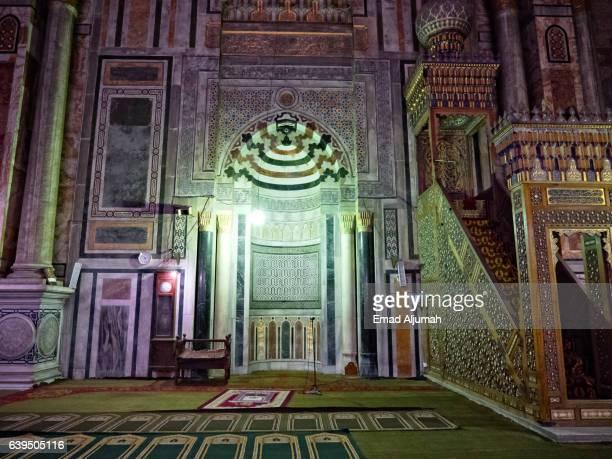 Mihrab of Al Rifai Mosque in Cairo, Egypt