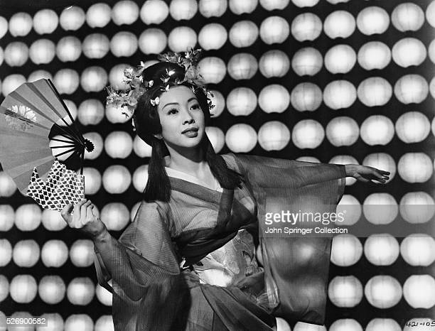 Miiko Taka plays dancer Hanaogi in the 1957 film Sayonara based on a James Michener novel
