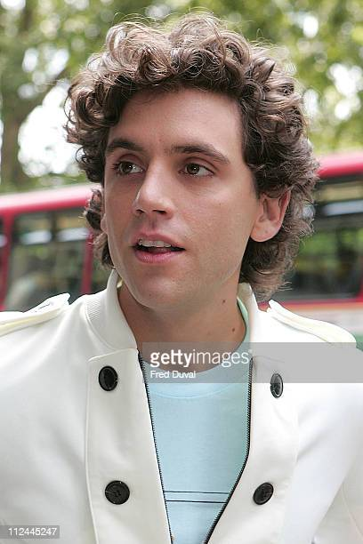 Mika attends Ivor Novello Awards at the Grosvenor House Hotel on May 22 2008 in London England