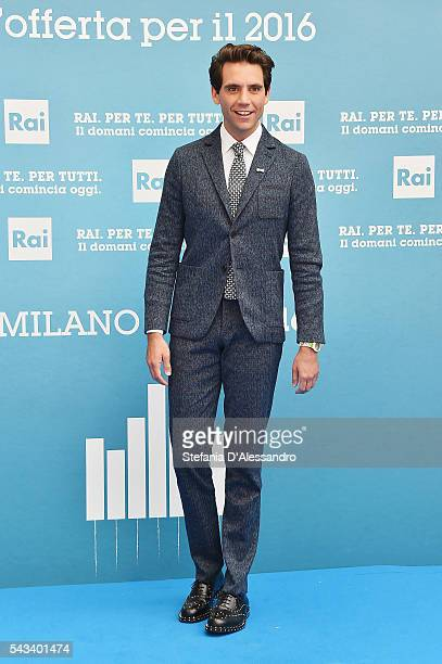 Mika attends Rai Show Schedule Presentation In Milan on June 28 2016 in Milan Italy