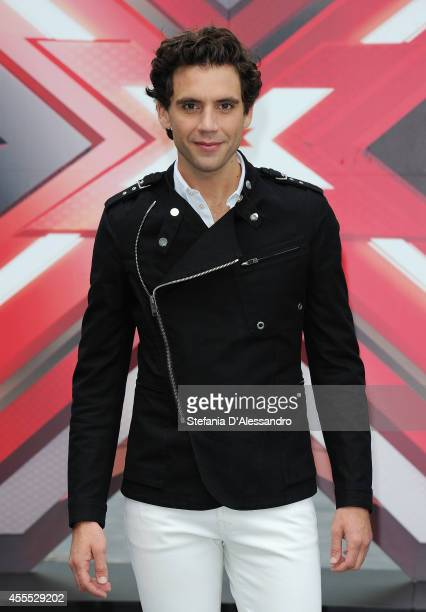 Mika attends 'X Factor' photocall on September 16 2014 in Milan Italy