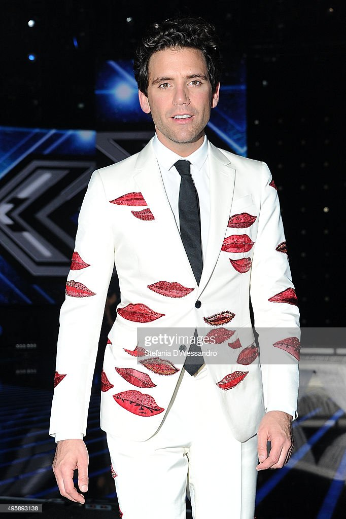 <a gi-track='captionPersonalityLinkClicked' href=/galleries/search?phrase=Mika&family=editorial&specificpeople=686723 ng-click='$event.stopPropagation()'>Mika</a> attends 'X Factor' Tv Show on November 5, 2015 in Milan, Italy.