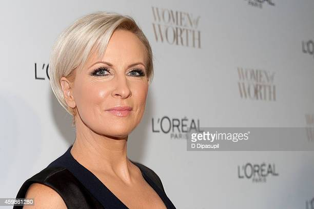 Mika Brzezinski attends L'Oreal Paris' Ninth Annual Women of Worth Awards at The Pierre Hotel on December 2 2014 in New York City