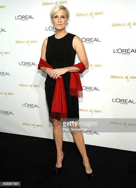 Mika Brzezinski attends L'Oreal Paris' Women of Worth 2013 at The Pierre Hotel on December 3 2013 in New York City