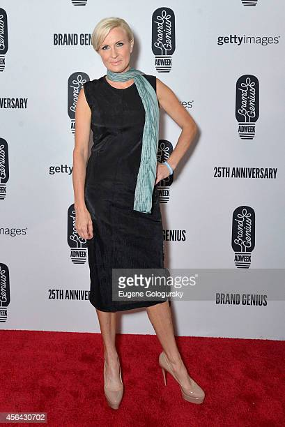 Mika Brzezinski attends the 25th Anniversary Adweek Brand Genius Gala at Cipriani 25 Broadway on September 30 2014 in New York City