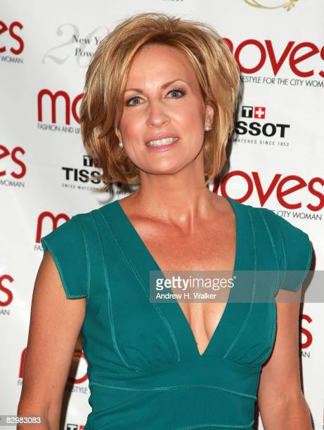 Mika Brzezinski attends the 5th annual Moves Power Women Awards at The Carlton on September 23 2008 in New York City