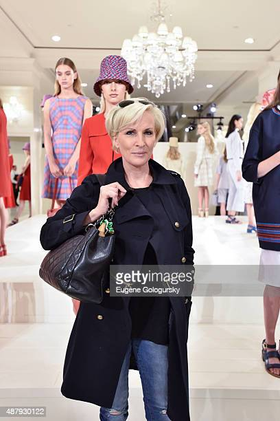 Mika Brzezinski attends the Brooks Brothers SS 2016 Presentation With Zac Posen on September 12 2015 in New York City