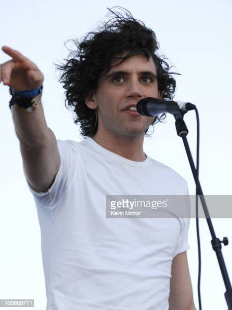 Mika during 2007 Coachella Valley Music and Arts Festival Day 3 at Empire Polo Field in Indio California United States