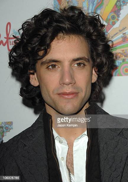 Mika during Album Release Party For MIKA's 'Life in Cartoon Motion' March 29 2007 at Spotlight Live in New York City New York United States
