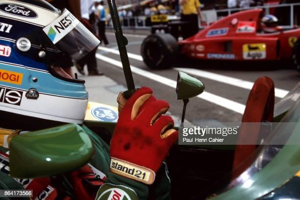 Mika Häkkinen LotusFord 107 Grand Prix of Hungary Hungaroring 16 August 1992