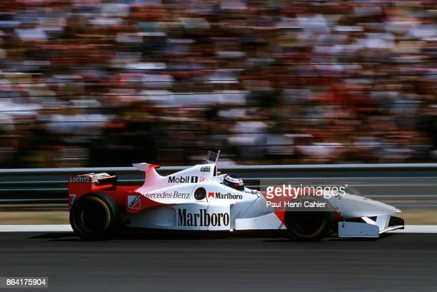 Mika Häkkinen McLarenMercedes MP4/11B Grand Prix of Hungary Hungaroring 11 August 1996