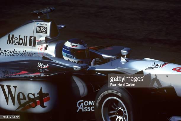 Mika Häkkinen McLarenMercedes MP413 Grand Prix of Japan Suzuka Circuit 01 November 1998