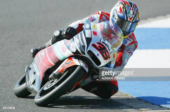 Mika kallio of finland takes a corner on pictures getty for Camel motors on park and ajo