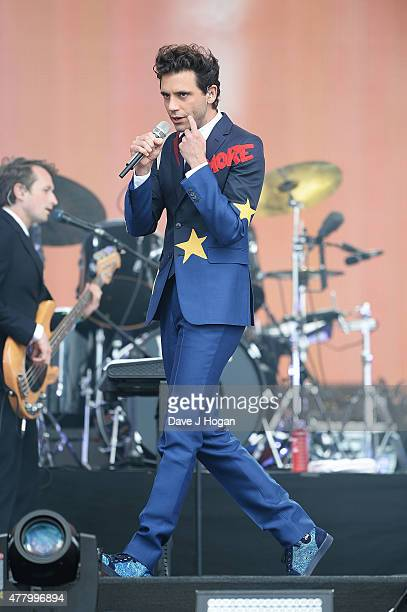 Mika performs at the British Summer Time 2015 at Hyde Park on June 21 2015 in London England
