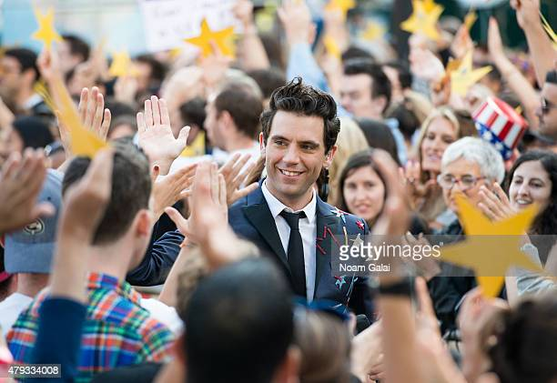 Mika Performs On ABC's 'Good Morning America at Rumsey Playfield Central Park on July 3 2015 in New York City