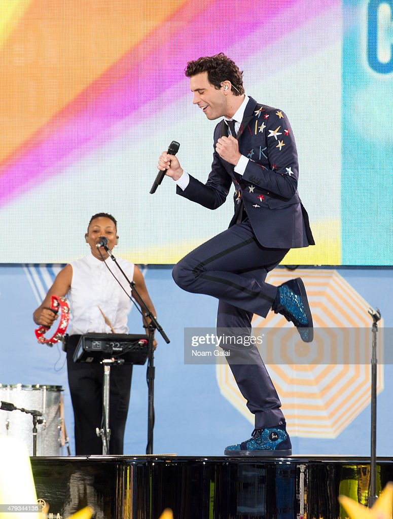 "Mika Performs On ABC's ""Good Morning America"""